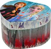 Pudełko na biżuterię z lusterkiem i dźwiękami Serce Frozen 2 WD20734 Kids Euroswan