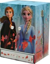 Pudełko na biżuterię z lusterkiem, brokatem i dźwiękami Frozen 2 WD20736 Kids Euroswan