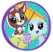 Zegar ścienny 25cm Little Pet Shop LPS17015 Kids Euroswan