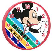 Zegar ścienny 25cm Mickey Mouse WD21207 Kids Euroswan