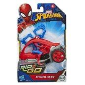 Pojazd Rip n Go Spider-Man czerwony