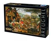 Puzzle 1000 Brueghel, Cztery pory roku - Jesień