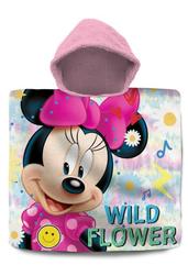 Poncho kąpielowe 60x120cm Minnie Mouse WD21544 Kids Euroswan