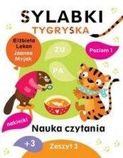 Sylabki Tygryska. Nauka czytania zeszyt 3
