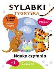 Sylabki Tygryska. Nauka czytania zeszyt 2