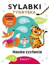 Sylabki Tygryska. Nauka czytania zeszyt 1