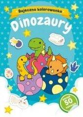 Dinozaury. Bajeczna kolorowanka