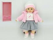 Lalka dziewczynka 40cm z dźwiękiem, pudełko 529977