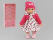 Lalka dziewczynka 40cm z dźwiękiem w pudełku 536838