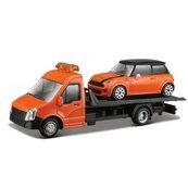 Street Fire Transport W Mini Cooper S 1:43 BBURAGO
