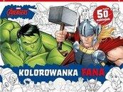Kolorowanka fana. Marvel Avengers
