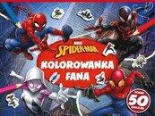 Kolorowanka fana. Marvel Spider-Man