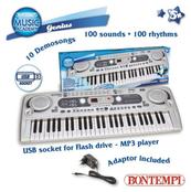Bontempi Play Keyboard 54 midi keys + torba 55573 DANTE