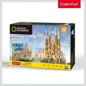 Puzzle 3D Sagrada Familia Barcelona National Geographic