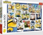 Puzzle 500 Zwariowana kolekcja zdjęć TREFL