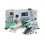 Gabinet medyczny lekarka + pacjent