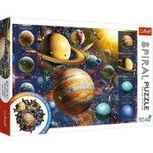 Puzzle 1040 Spiral Układ Słoneczny TREFL