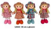 Lalka z głosem 30cm 4wz MIX 146793