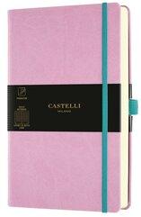 Notatnik 13x21cm linia Castelli Aquarela Mallow