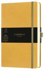 Notatnik 13x21cm linia Castelli Aquarela Mustard