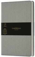 Notatnik 13x21cm linia Castelli Harris Oyster Grey