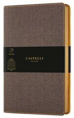 Notatnik 13x21cm linia Castelli Harris Brown
