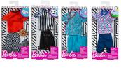 Barbie Ubranka Ken kariera FXJ49 p8 MATTEL mix, cena za 1 szt.