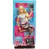 Barbie MADE TO MOVE lalka kwiecista FTG81 FTG80 MATTEL