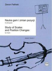 Nauka gam i zmian pozycji na skrzypce z.2