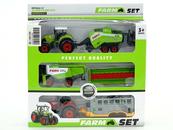 Farma Traktor z maszyną mix 523142