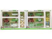 Zestaw Farma Traktor z figurkami mix 524811