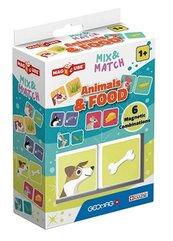Geomag Magicube Animals & Food Mix & Match 2 el.