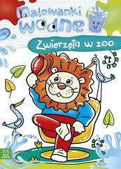 Malowanki wodne. Zwierzęta w zoo