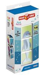 Geomag Magicube Ocean Animals Mix & Match 3 el.
