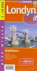 See it Londyn 1:10 000 plan miasta DEMART