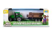 Traktor z przyczepą Mini Farma mix p12 143755 Cena za 1szt