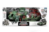 Zestaw wojskowy z helikopterem i wozem TOYS FOR BOYS 157257 ARTYK