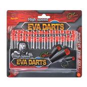 Pociski piankowe 36szt EVA DARTS 19x17cm MC