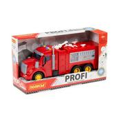 """Polesie 86518 """"Profi' samochód straż pożarna z napędem, światło, dźwięk w pudełku"""