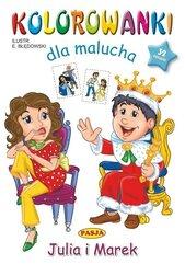 Kolorowanki dla malucha - Julia i Marek