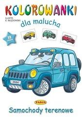 Kolorowanki dla malucha - Samochody terenowe