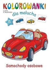 Kolorowanki dla malucha - Samochody osobowe