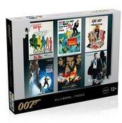 Puzzle 1000 James Bond 007 Actor debut