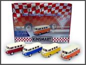 VW Classical bus z białym dachem 1:38 p12 KT5377D Cena za sztukę
