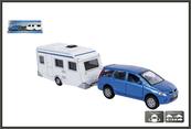 Auto z przyczepą Campingową 521506