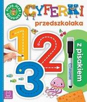 Cyferki przedszkolaka z pisakiem Piszę, liczę i zmazuję Wydanie specjalne