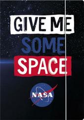 Teczka z gumką A4 NASA mkml mix