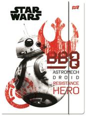 Teczka z gumką A4 STAR WARS EPIZOD VIII p10 cena za 1 sztukę