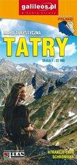Mapa turystyczna - Tatry 1:22 500