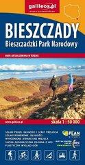 Bieszczady, Bieszczadzki Park Narodowy 1:50 000